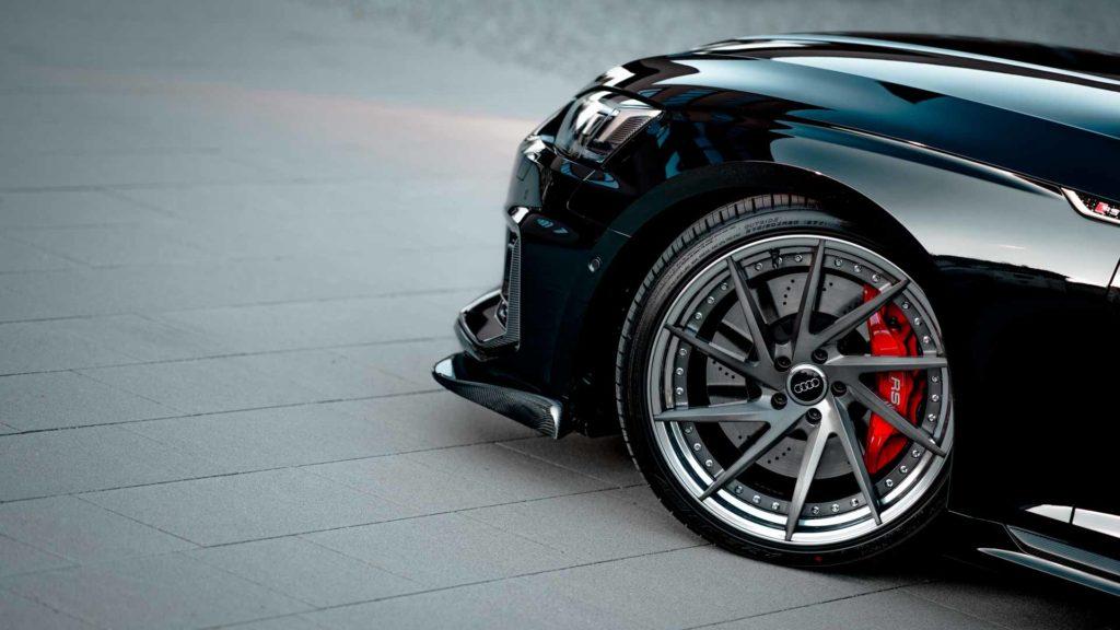 Audi RS5 Felge Motorhaube Kotflügel schwarz rot Bremssattel Regensburg