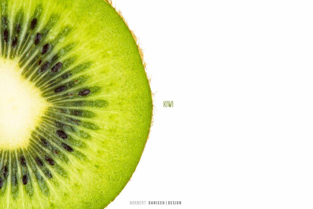 Kiwi Produkt Frucht Kerne Grün weiß Regensburg