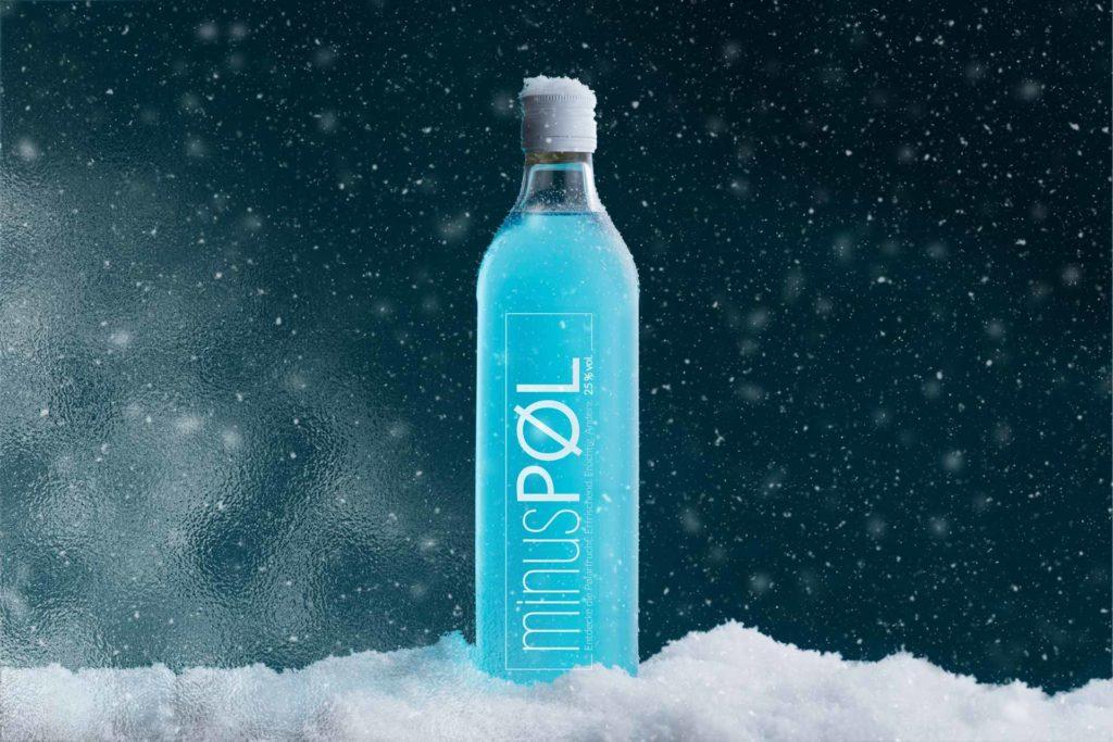 Minus Pol Schnaps Eis kalt blau Produkt Schnee Regensburg