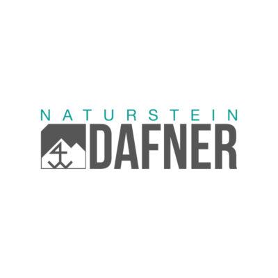 Naturstein Dafner Logo Design Grafik