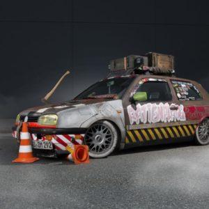 Volkswagen Golf 3er Ratten