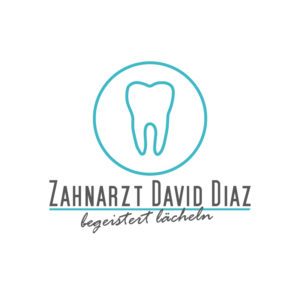 Zahnarzt David Diaz Logo Design Grafik
