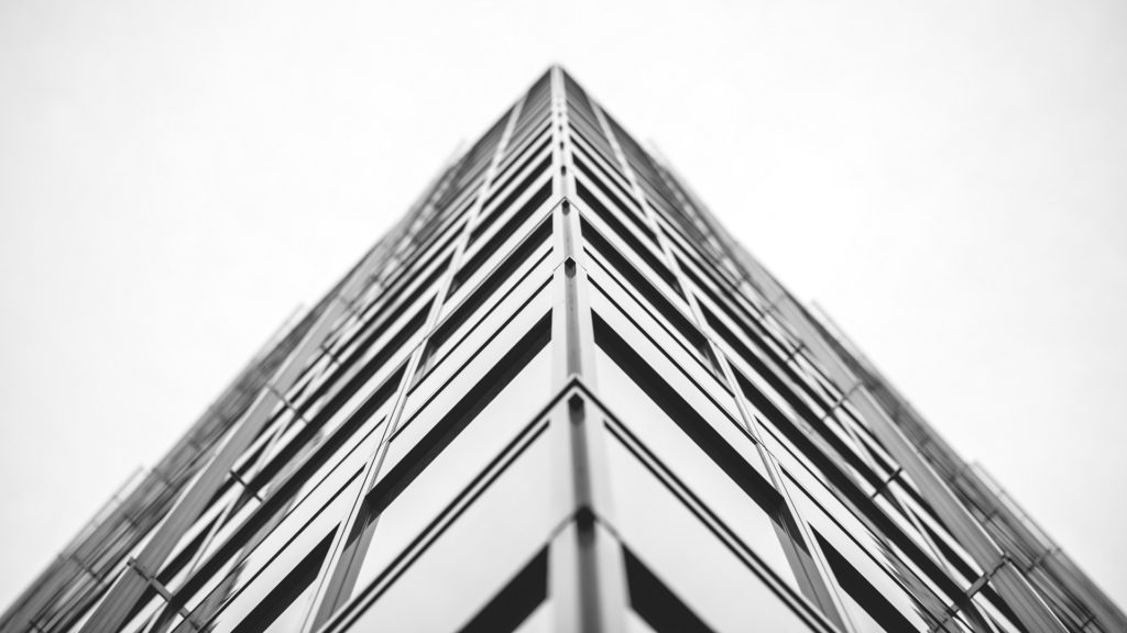 Hamburg Architektur schwarz weiß haus