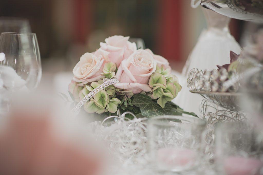Blumenstrauß Hochzeitstisch Hochzeit Barbing