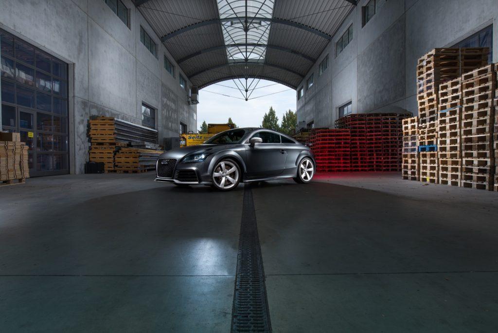 Audi TT RS Fahrzeug Paletten Regensburg