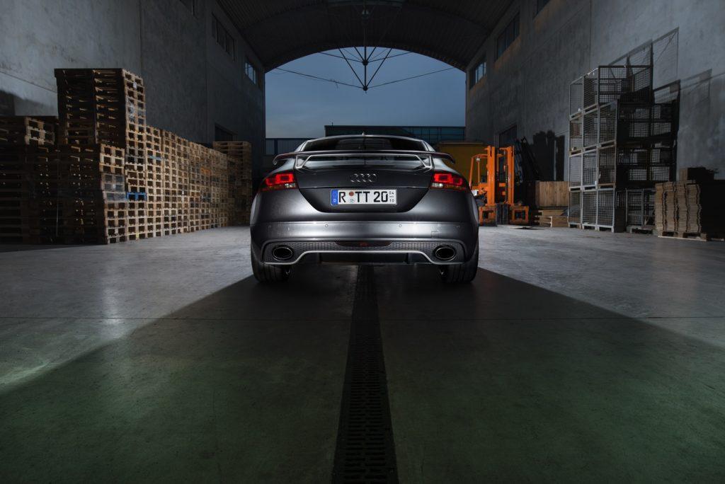 Audi TT RS Hinten Fahrzeug Auto Regensburg