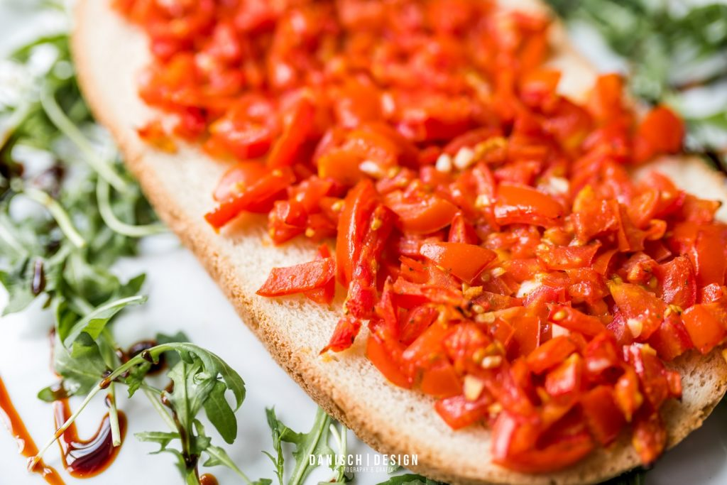 bruschetta essen brot tomate salat thalmassing