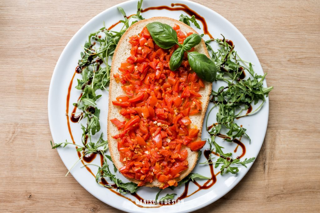 bruschetta Essen Salat Tomate Brot Thalmassing
