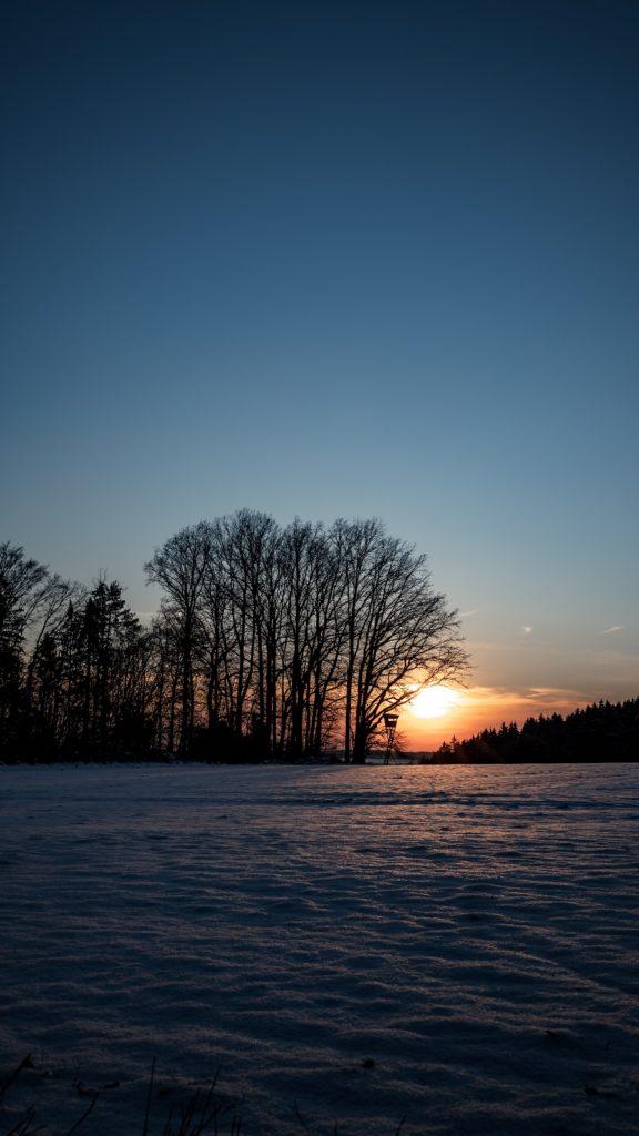 Sonnenuntergang Bad Abbach