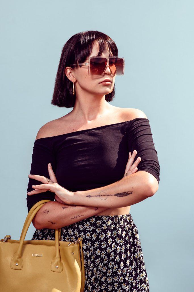 Frau High Fashion Fotograf